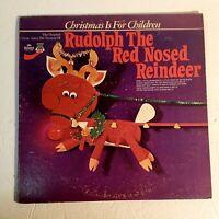 Gene Autry: Rudolph The Red-Nosed Reindeer: Mr. Pick 1977 Vinyl LP (Children's)