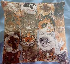 """Janlynn Feline Frolic! Needlepoint Kit! Beautiful Cats! 14x14""""! Sealed!"""