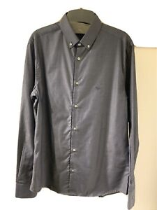 Emporio Armani Slim Fit Print Shirt, Size Large