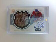 2014-15 the cup hockey NHL GLORY A.Galchenyuk auto shield patch 10/10