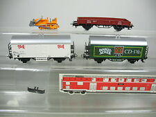 AJ296-0,5# 3x Märklin H0/AC Vagone merci: Dinkelacker DB+Bell SBB-CFF ecc.