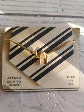 Vintage CAMEL Tie Bar Clip:OLD IN ORIGINAL CARD...LOOK!