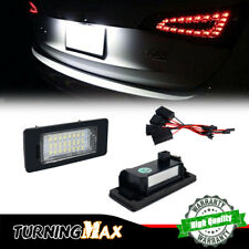 For VW Jetta Passat Golf Porsche Panamera 24-LED White License Plate Lights 2pcs