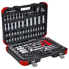"Gedore Red 1/4"", 3/8"" & 1/2"" Socket Ratchet Set 
