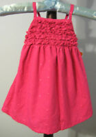 New PENELOPE MACK Size 6-9 Months Pink Smocked Dress with Diaper Cover