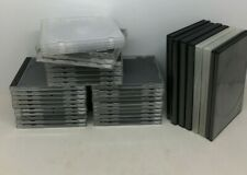 USED CD / DVD CASES VARIOUS SIZES JOB LOT GOOD CONDITION