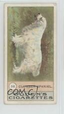 1911 Itc Fowls Pigeons and Dogs Tobacco Clumber Spaniel #36 jn1