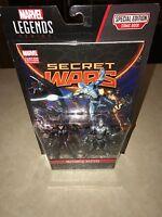Marvel Legends Series Mechanical Masters Figures & Secret Wars Comic NIP (N4)@
