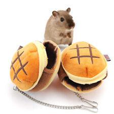 Portable Small Hamburger Shape Cotton Nest House Winter Warm Pet Hamster Cage Us