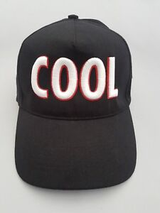 3D Puff COOL Embroidered Baseball Cap hat