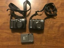 Canon Powershot G10 and a G12, Working, Battery, One Charger Two 4GB SD Cards