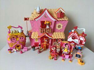 Lalaloopsy Bundle - Sew Sweet / Crumb House / Hospital + Dolls & Accessories