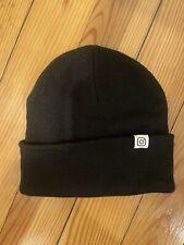 Black Instagram Beanie Hat Winter