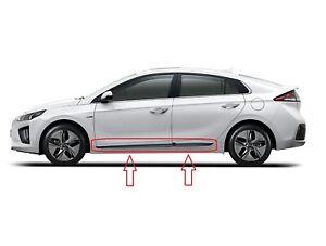 Door Lower Molding 2017-2020 Ioniq Right & Left Front & Rear Original Hyundai