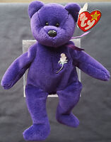 Rare TY Princess Diana 1st Edition In Very Good Condition Swing Tag Beanie Baby