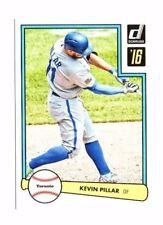 Kevin Pillar 2016 Panini Donruss, 1982 Design, Baseball Card !!