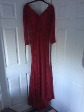 Special Occasion Dress Red Brand New size 6