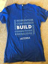 Blue Doterra Build Shirt Small