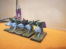 Warhammer AOS Goblins Regiment//Wolf Riders Spears x5