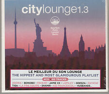 V.A. City Lounge 1.3 by  (CD, Jan-2016) 4 Cd`s New and Sealed