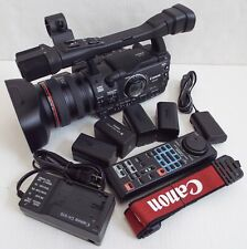 Canon XH A1 Mini DV Camcorder - Black in excellent condition like new (NTSC)