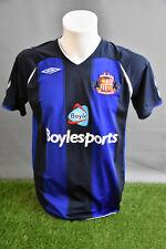 Sunderland Football Shirt Away Adult M 0809 Umbro Soccer Jersey Camesita Trikot