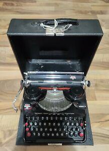 alte GROMA Schreibmaschine Modell N