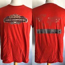 LEAGUE OF LEGENDS: SEASON 2 CHAMPIONSHIPS (2012) Official Men's T-Shirt Sz Large