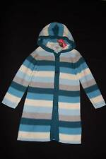 NWT GYMBOREE My Best Friend Striped Hooded Sweater Duster Coat 5 5T Fall Winter