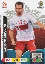 JAKUB WAWRZYNIAK # POLAND POLSKA CARD PANINI ADRENALYN EURO 2012