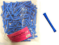 "Hair Perm Rods Non Slip 3"" Long (BLUE) w/ elastic band 1 LB BAG  sale"