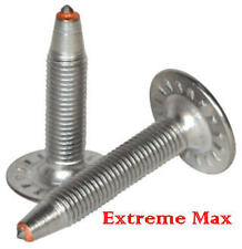 "48 qty.Extreme Max 1.40"" Stainless Steel Snowmobile Studs,Nuts for 1.25"" track"