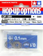 Tamiya 53588 (OP588) Φ10mm Shim Set (3Types/10pcs.Each)