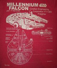 STAR WARS - MILLENNIUM FALCON - Men's size S - Graphic T-Shirt