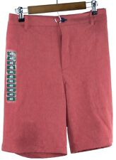 IZOD Advantage Performance Mens Size 38 Quick Dry 4-Way Stretch Hybrid Shorts Sl