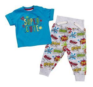 NEU Baby Jungen T-Shirt Sweat Hose Set Gr.74 80 86 92 Englandmode