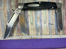 Vintage BUCK 307 JUMBO STOCKMAN WRANGLER KNIFE PRE1986 - FREE SHIPPING to USA