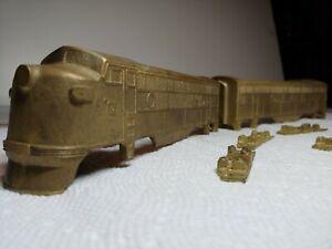 Vintage Schorr American OO Scale Gauge   Engine Brass cast EMD F3 A &B 1949-50's