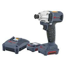 Ingersoll Rand: #W1110-K2 12V 1/4 HEX Impact Wrench Kit w/ 2 Batteries