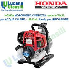 Motopompa Honda Wx10 T fino a 140 litri al minuto per irrigazione e pompaggio