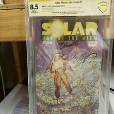SOLAR MAN OF THE ATOM # 1 Valiant CGC S.S. 8.5 PHILIPPINES  EDITION