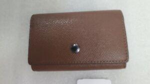 NWT Coach Five Ring Key Case F3992 in Dark Saddle