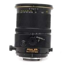 Nikon 24mm f3.5 D PC-E Nikkor Tilt Shift Lens
