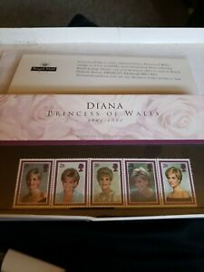 Diana Princess of Wales Royal Mail Mint Stamps new