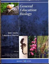 General Education Biology Laboratory Manual Miami Dade College Edition BSC 1005L
