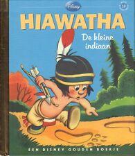 EEN DISNEY GOUDEN BOEKJE 13 - HIAWATHA - DE KLEINE INDIAAN