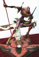EVA-01 with Longinus & Lilith Evangelion Unpainted Statue Figure Model Resin Kit