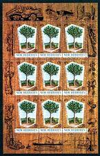 NEW HEBRIDES - BR - 1969 - TREE - KAURI PINE - TIMBER - MINT - MNH SHEET!