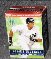 BERNIE WILLIAMS NEW YORK YANKEES 2006 SPORTS AUTHORITY LIMITED EDITION SGA BOXED
