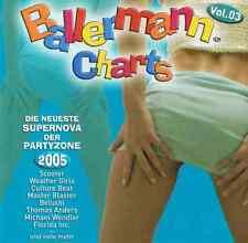 Ballermann Charts Vol.3 - 2 CDs Neu Jan Wayne Mickie Krause Willi Herren Belushi